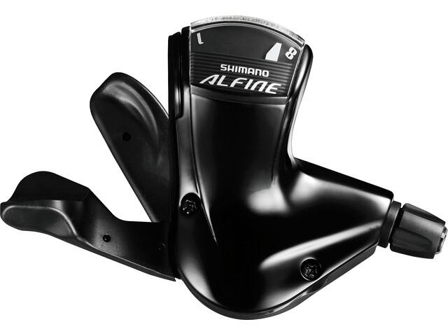 Shimano Alfine SL-S7000-8 Leva cambio 8 marce nero